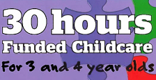 30 hours funded childcare